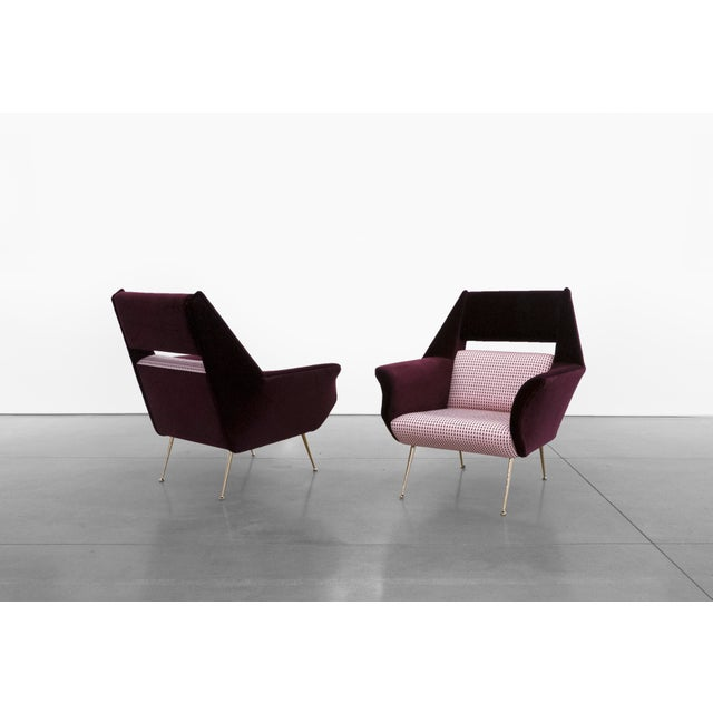 Mid-Century Modern Gigi Radice, Chairs for Minotti, C. 1950 - 1959 For Sale - Image 3 of 8