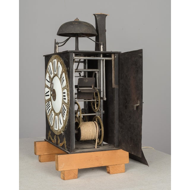 18th Century French Tall Case Clock or Horloge De Parquet For Sale - Image 10 of 13