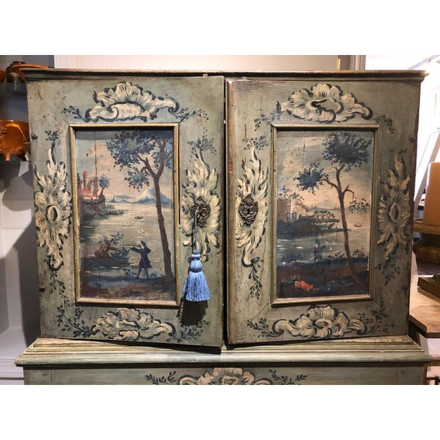 "Lovingly named the ""Cabinet of Curiosity."" These multi-drawer cabinets were fashionable with eccentric European collectors..."