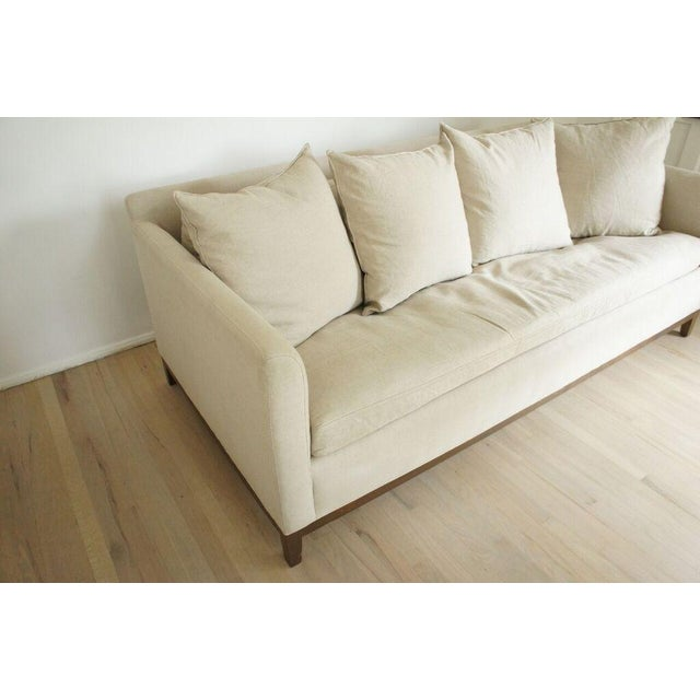 Cisco Home Flax Linen Sofa - Image 5 of 10