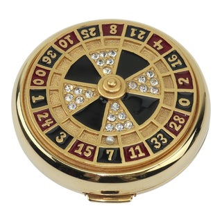 Estee Lauder Roulette Wheel Powder Compact For Sale