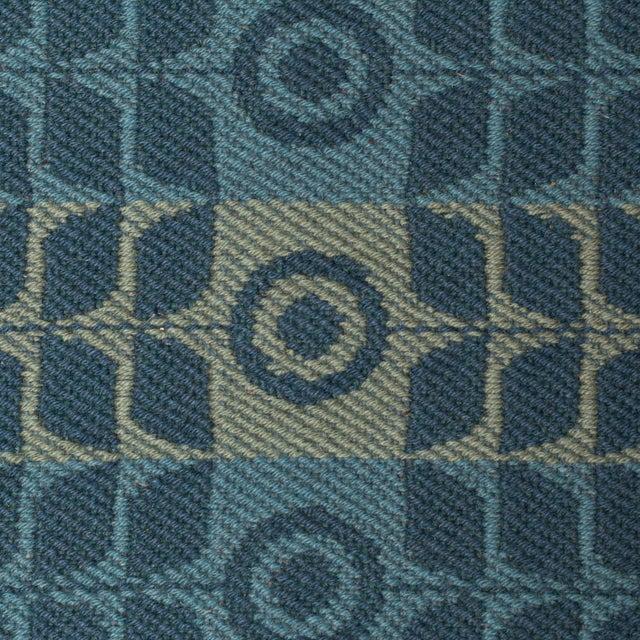 Mid-Century Modern Flat Weave Scandinavian Rug-1960's For Sale - Image 3 of 4