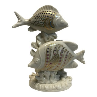 Lenox China Jewels Collection Fish Figurine For Sale