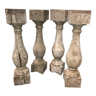 """Chippy"" Small Pedestals - a Set of 4 For Sale"
