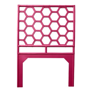 Honeycomb Headboard Twin - Bright Pink For Sale