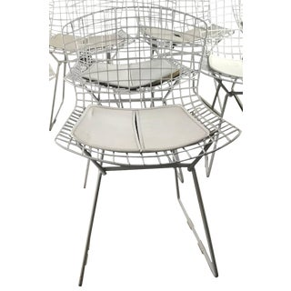 1950s Vintage Harry Bertoia for Knoll Early Modernist Wire Bertoia Side Chair For Sale