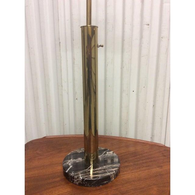 Walter Von Nessen Brass & Marble Table Lamp - Image 6 of 8