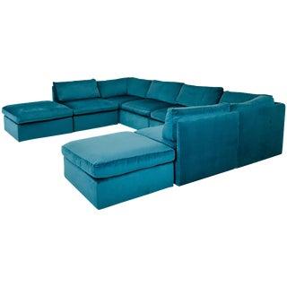 Monumental Milo Baughman Modular Sofa For Sale
