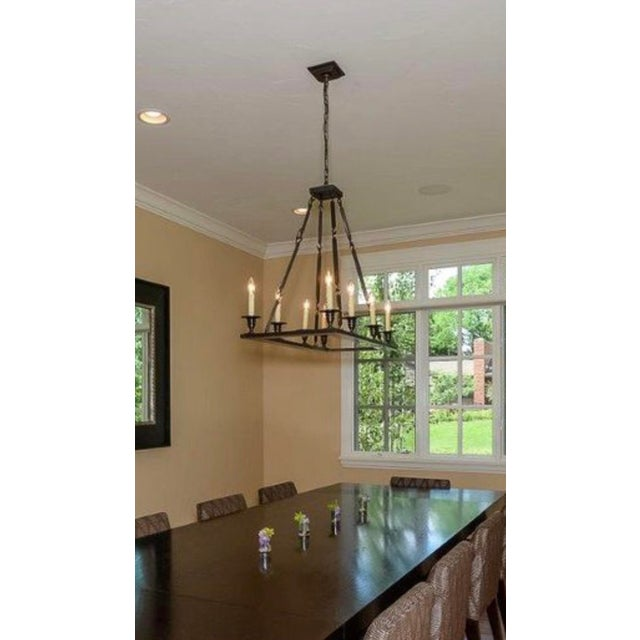 Contemporary Holly Hunt Contemporary Chandelier For Sale - Image 3 of 4