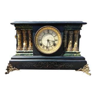 Vintage Waterbury Mantel Clock For Sale
