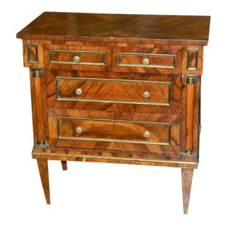 Burled Walnut Chests - A Pair