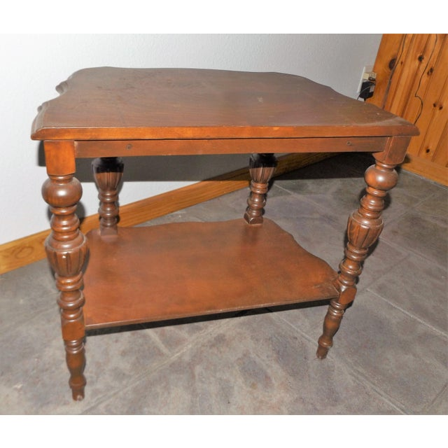 Victorian Tiered End Table - Image 6 of 6