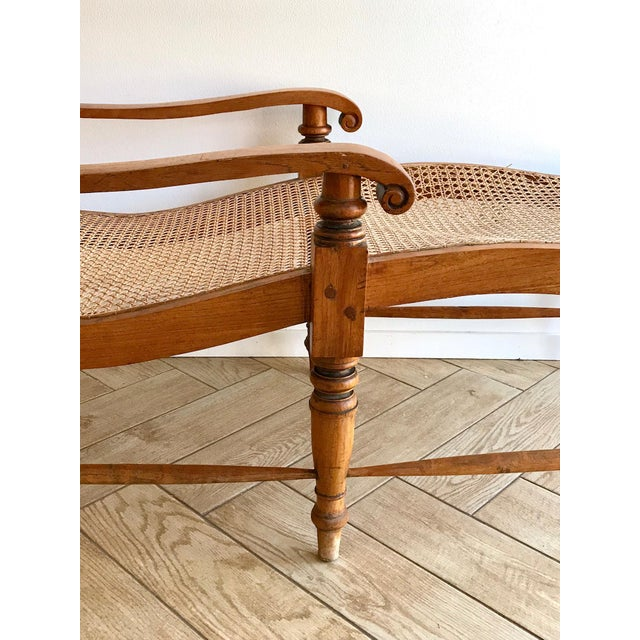 Early 20th Century Antique Bauer Plantation Chaise Lounge For Sale In San Diego - Image 6 of 13