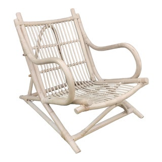 1960 Franco Albini Bamboo Lounger For Sale