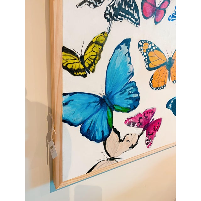 """""""Butterflies - a Collection"""" Original Painting For Sale - Image 4 of 5"""