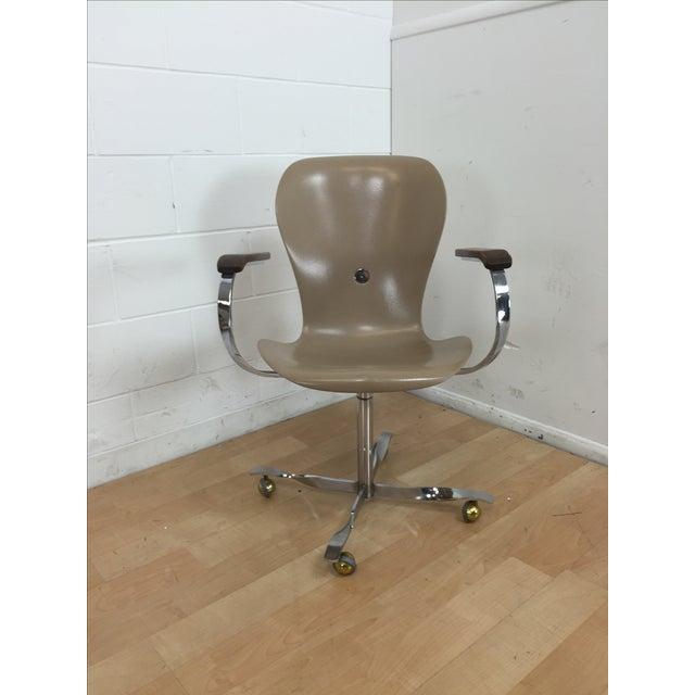 Mid-Century Gideon Kramer Ion Desk Chair - Image 2 of 11