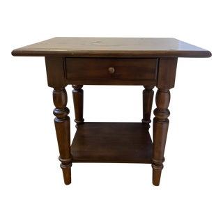 Vintage Pottery Barn Side Table For Sale