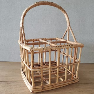 Bamboo Wine / Bottle Carrier Crate Preview