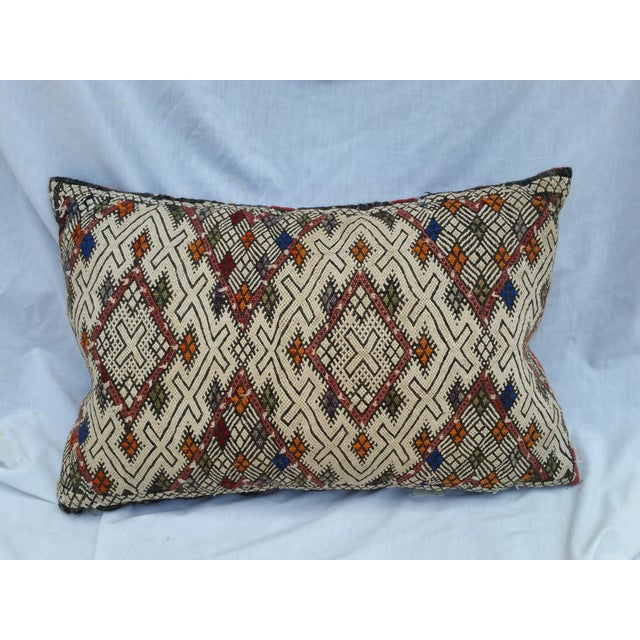 Turkish Tribal Hand Worked Pillow - Image 2 of 6