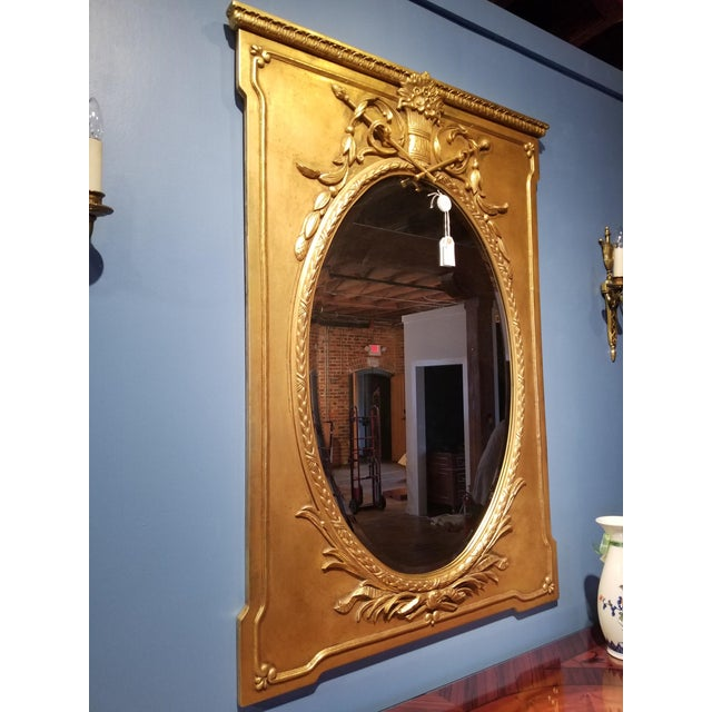 Friedman Brothers Mirror from suite 38H of the Waldorf Towers, Waldorf Astoria hotel in New York City. The large carved...