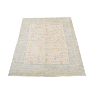"Very Fine Afghan Mahal Sultanabad Design Rug - 7'10""x9'3"" For Sale"