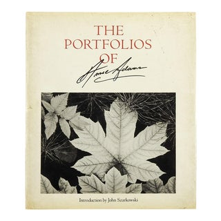 """""""The Portfolios of Ansel Adams"""" Book For Sale"""