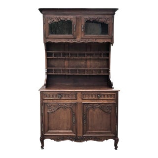 Vaisselier Buffet, 19th Century Country French From Normandie For Sale