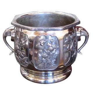 Large 1930s Art Deco Urn Planter For Sale