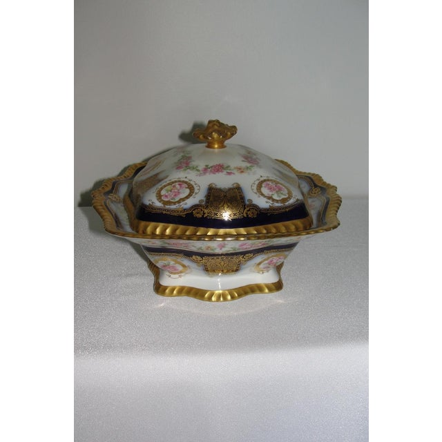 Limoges Display Collector Casserole Covered Dish For Sale - Image 4 of 11