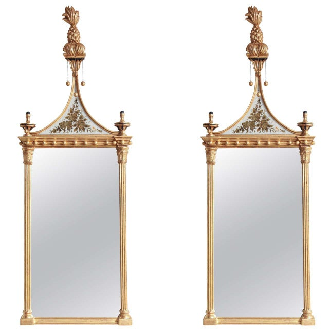 Pair of Federal Pier Mirrors For Sale - Image 10 of 10