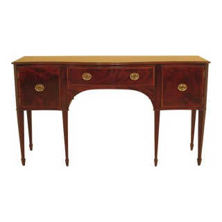 Federal Baker Mahogany Sideboard For Sale