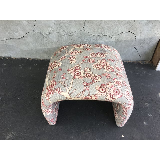 Vintage Waterfall Ottoman - Image 3 of 6
