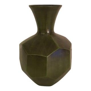 Royal Haeger Faceted Vase For Sale