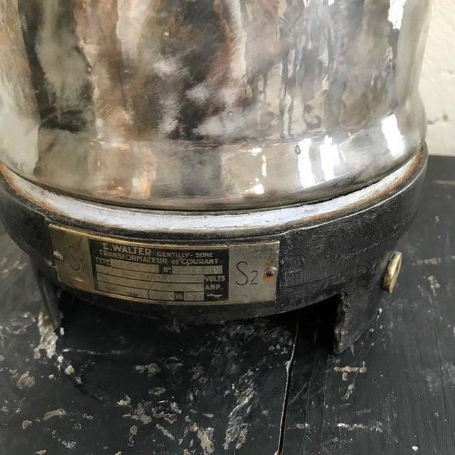 Ceramic Isolant Lamp w/ Shade