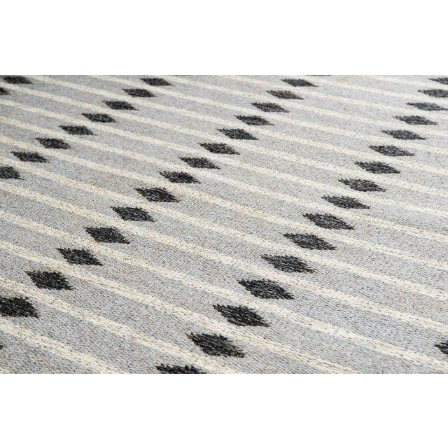 Vintage Swedish Flat-Weave Carpet - Image 2 of 7