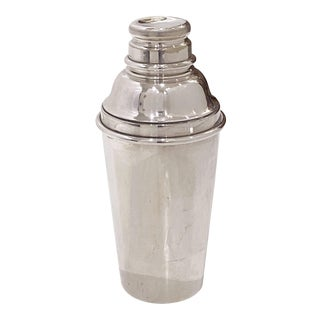 English Art Deco Cocktail or Martini Shaker by Gaskell and Chambers For Sale