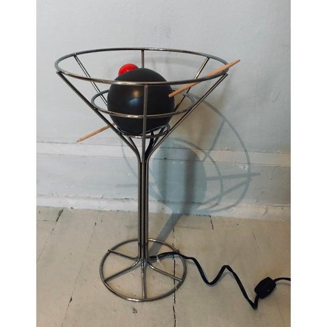 A vintage 60s lamp. Original specimen of 60's design.
