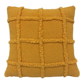 Maharam Melange Tweed Faux Chenille Pillow For Sale