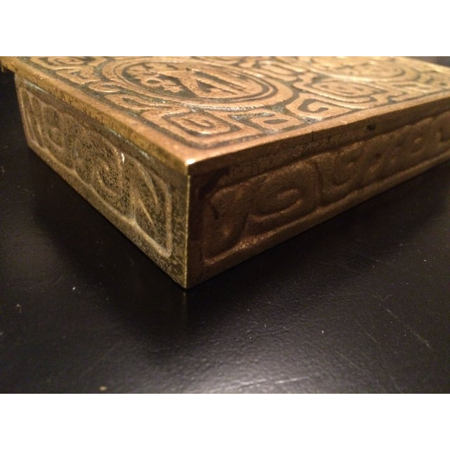 Tiffany Studios Zodiac Stamp Box - Image 2 of 6