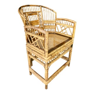 Brighton Pavilion Style Bamboo Chair For Sale