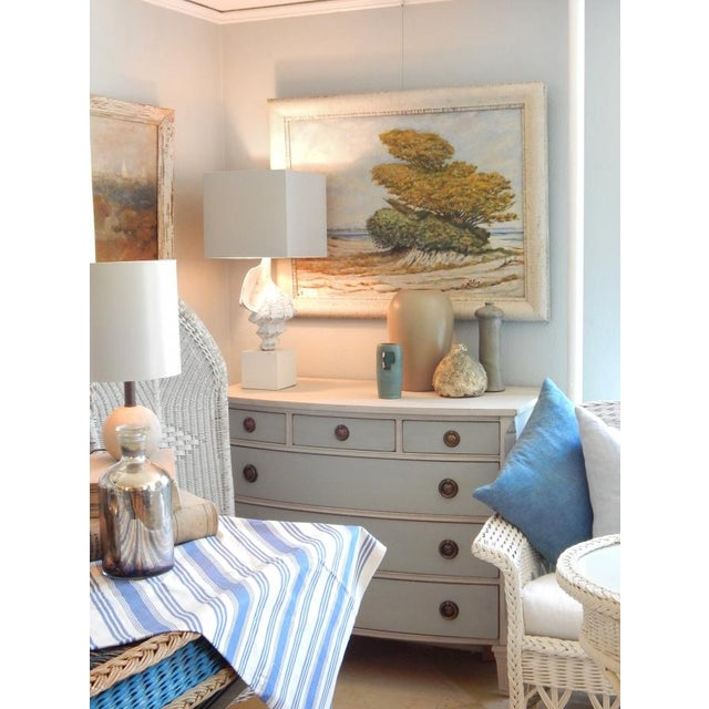 Swedish Blue and White Dresser - Image 10 of 10