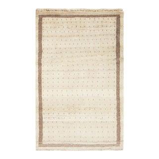 Persian Gabbeh Rug | Majid-3′5″ × 5′4″ For Sale