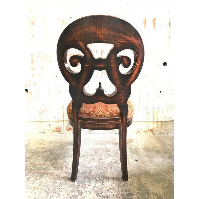 "Arhaus Set of Six Arhaus ""Jordan"" Dining Chairs For Sale - Image 4 of 13"