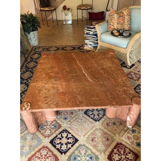 Stone Knoll International Marble Coffee Table - Vintage, Mid-Century For Sale - Image 7 of 10