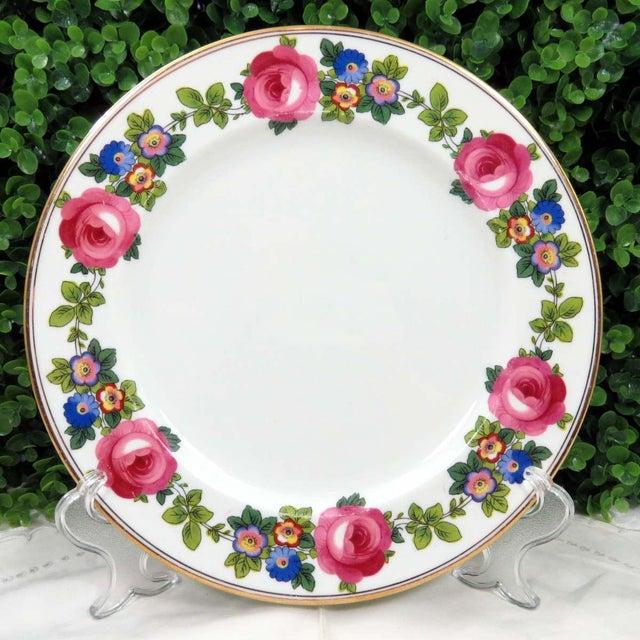 Vintage Mismatched Fine China Dinner Plates - Set of 4 - Image 6 of 10