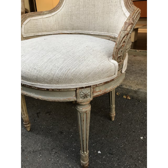 Mid 19th Century 1860 French Petite Fauteuils - a Pair For Sale - Image 5 of 6