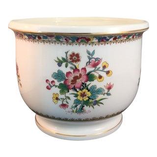 Coalport Porcelain Ming Rose Planter