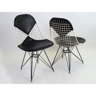 1950s Vintage Herman Miller Pair D K R Eames Chairs- A Pair Preview