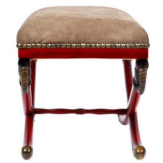1930s Vintage Regency Style Ottoman Preview