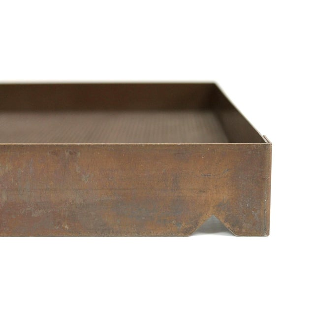 Architectural Bronze Mesh Letter Tray For Sale In Boston - Image 6 of 13
